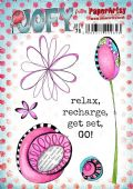 PaperArtsy Mounted Rubber Stamp Set JOFY Collection 76 - JOFY76